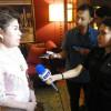รองประธานสภาการหนังสือแห่งชาติคนที่ 1 ให้สัมภาษณ์สื่อมวลชนอินโดนีเซีย